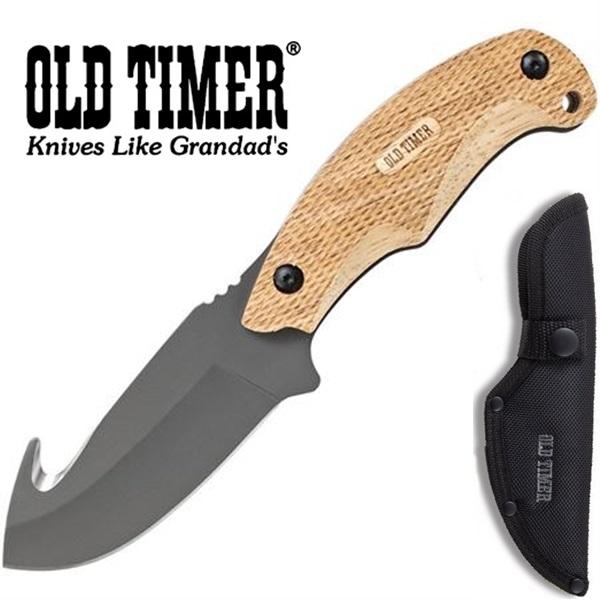 Schrade Old Timer Copperhead Guthook, SCH2143OTOKC