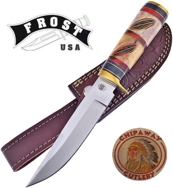 Frost Cutlery Chipaway Classic Wildcat Creek Skinner, FCW6095BRB