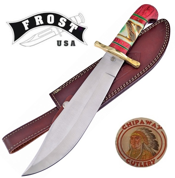 Frost Cutlery Chipaway Classic Wolf Dancer, FCW6162RWG