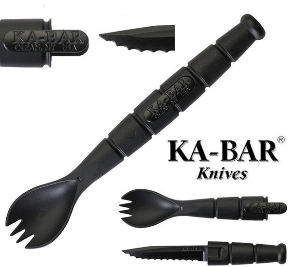 Ka-Bar Tactical Spoon Fork Knife, 9909