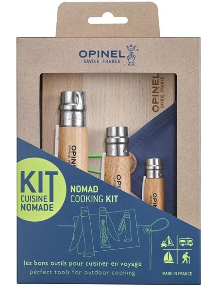 Opinel Nomad Cooking Kit, késkészlet túrázáshoz