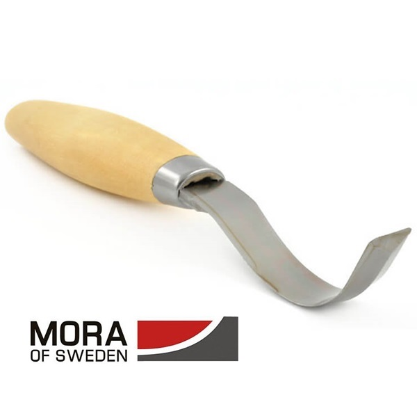 Mora Carving Hook Knife, fafaragókés hajlított pengével, 163S