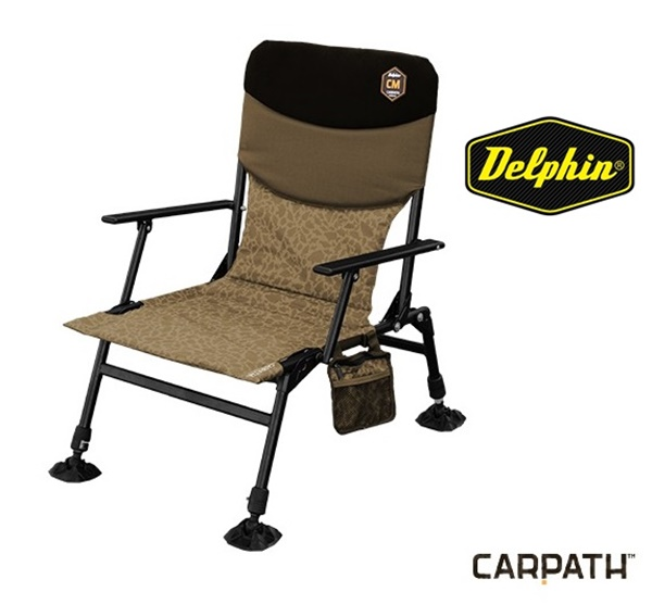 Delphin CM Carpath bojlis szék, 410100060