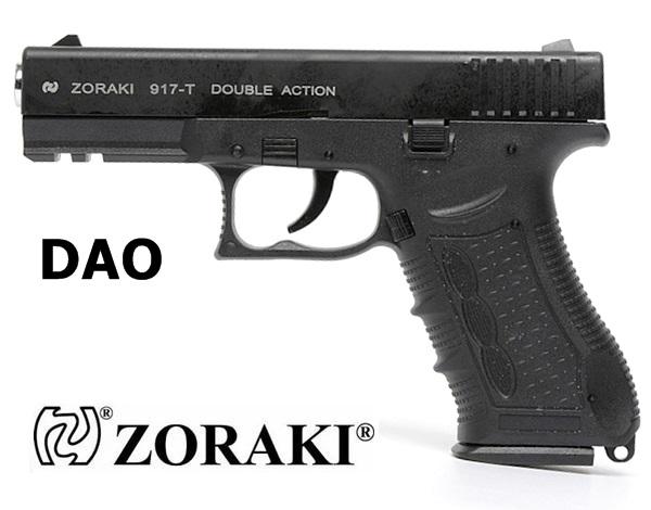 Zoraki 917T DAO gázpisztoly, fekete, 9 mm