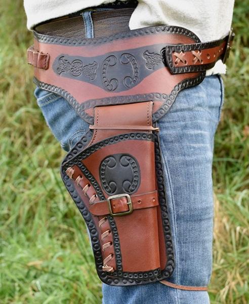 Western pisztolytok, bőr, 1616000500