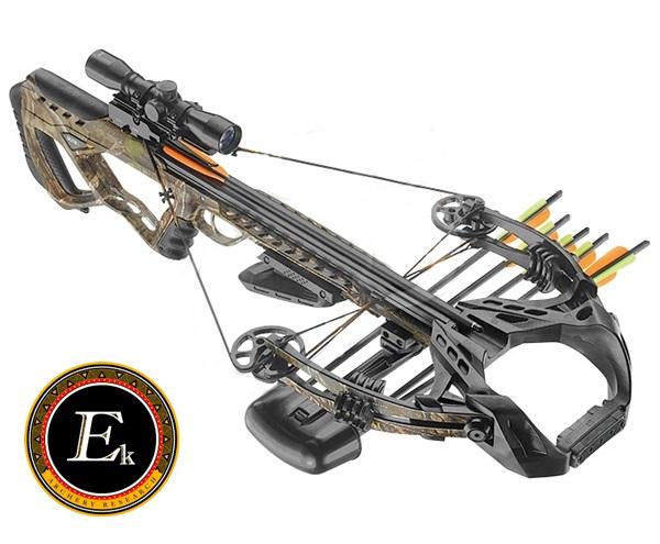 EK Archery Guillotine-X csigás számszeríj, 185#, terepszínű, 55I216