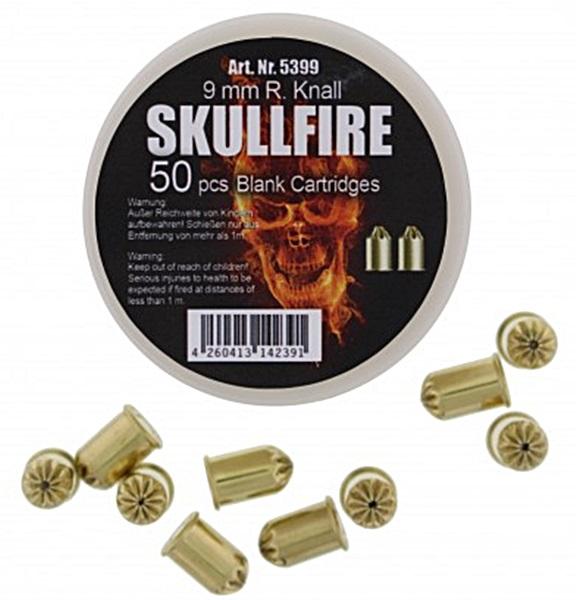 SkullFire 9 mm-es riasztópatron, forgó