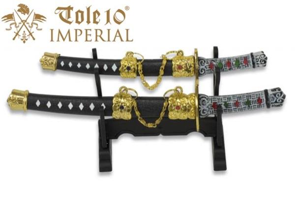 Imperial Tole10 mini szamurájkard készlet, 32139