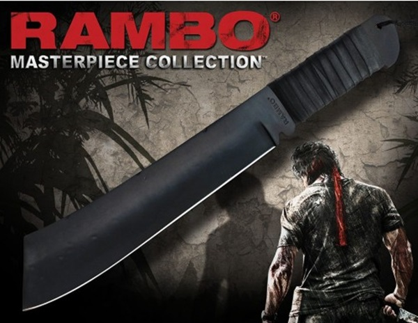 Rambo First Blood Part 4 Machete, Masterpiece Standard Edition, 40476