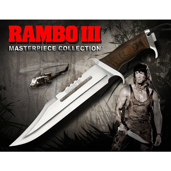 Rambo First Blood Part 3 Knife, Masterpiece Standard Edition, 40474