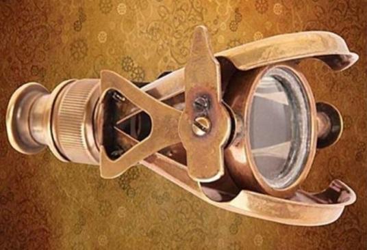 Steampunk réz távcső, 70917