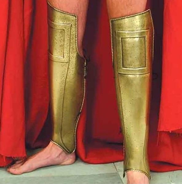 Spártai lábvédő páncél, 14768