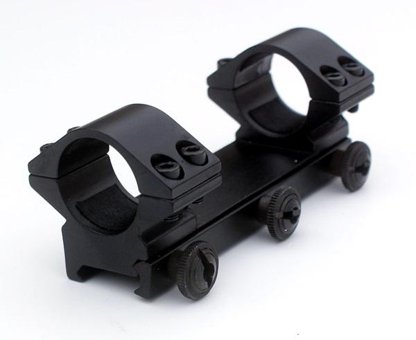 """Fegyvertávcső szerelék 20 mm-es sínre, 1""""-os, normál"""