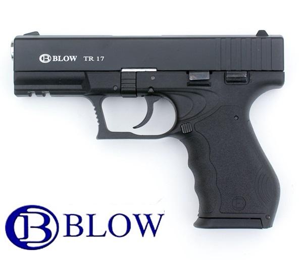 Blow TR17 gázpisztoly, 9 mm, fekete