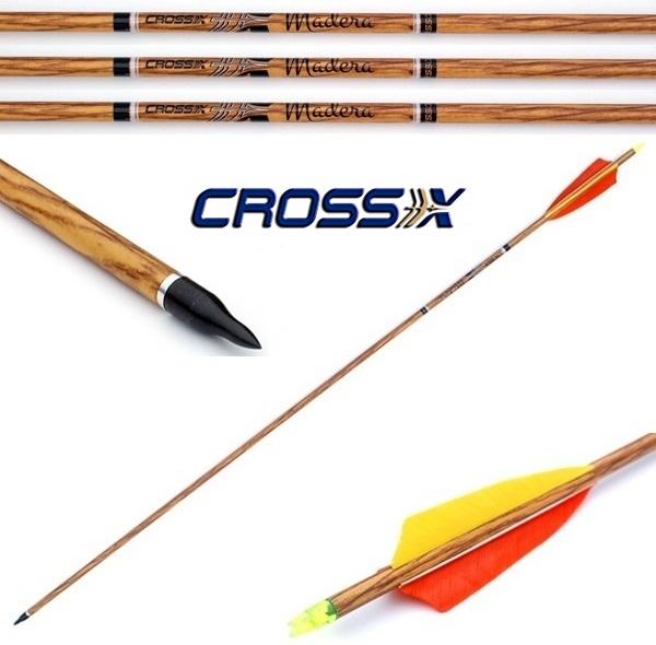 Cross-X Madera fa mintázatú carbon nyílvessző, 700-as, 53S652