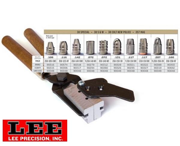 Lee öntőforma cal.38/357 Magnum pisztolylőszerekhez