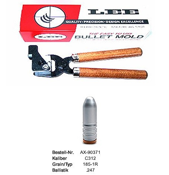 Lee öntőforma cal.303B-as puskalőszerekhez