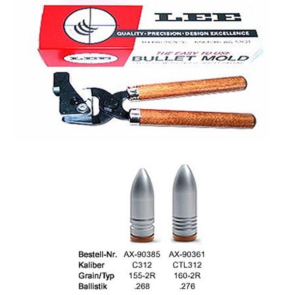 Lee öntőforma 7,62x39-es puskalőszerekhez