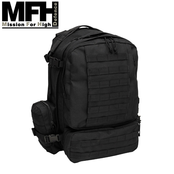 """MFH """"Tactical Modular"""" hátizsák 45 l, fekete, 30265A"""