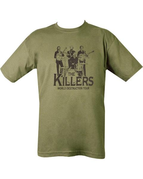 """Kombat """"Killers"""" férfi póló, olívzöld"""
