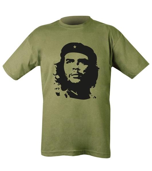 """Kombat """"Che Guevara"""" férfi póló, olívzöld"""