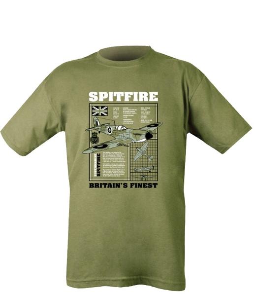 """Kombat """"Spitfire"""" férfi póló, olívzöld"""