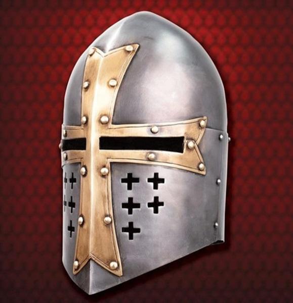 Knights Templar Sugarloaf Helm, 300552