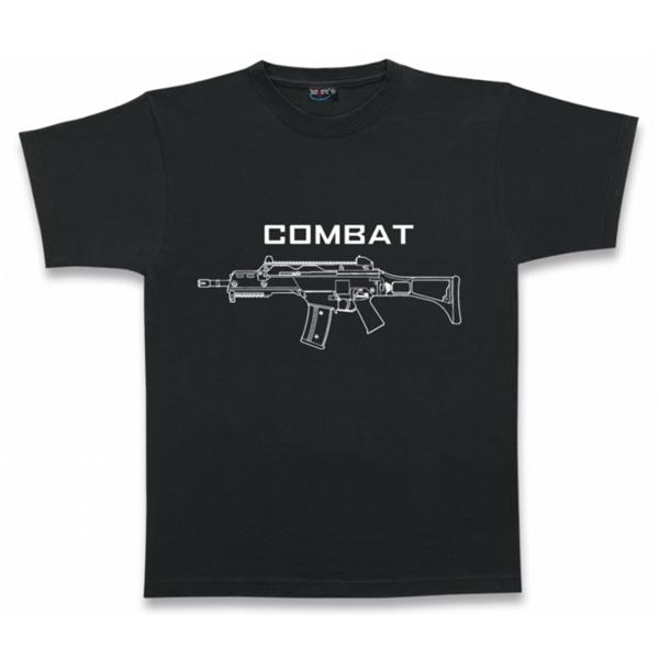 "Barbaric ""Combat"" póló, fekete"