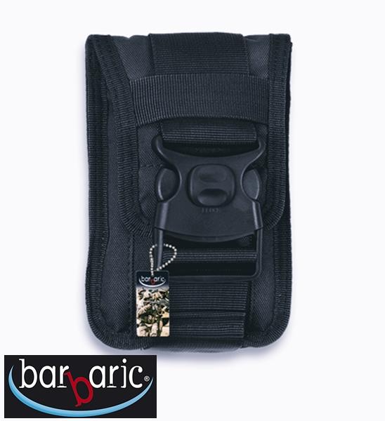 Barbaric mobiltelefon és irattartó kistáska, fekete, 34905-NE