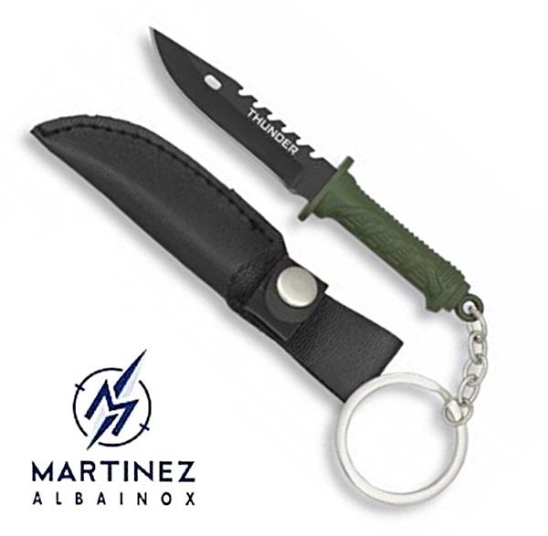 Albainox kulcstartó kés, 32368