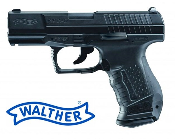 Walther P99 DAO CO2 airsoft pisztoly, blow-back, UM25684