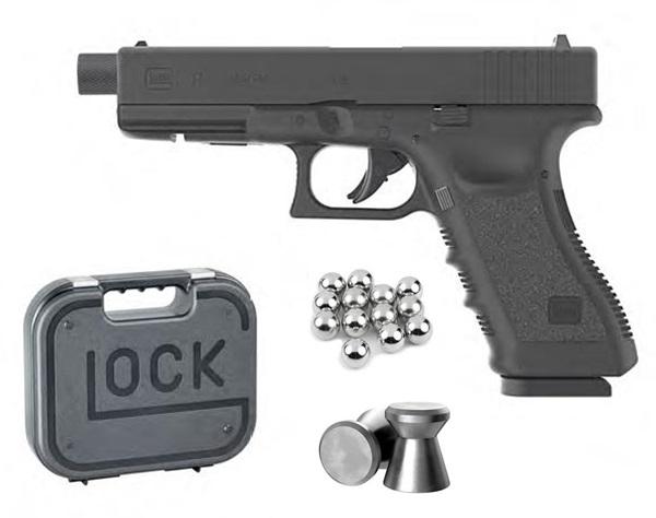 Glock 17 légpisztoly 4,5mm, menetes csőtorkolat, UM58366