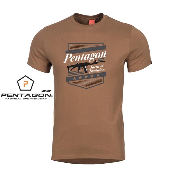 Pentagon A.C.R. taktikai póló, barna, K09012
