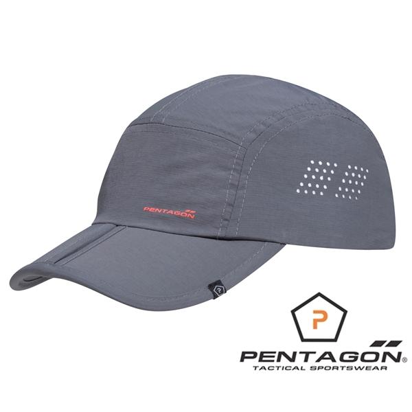 Pentagon Zakros összecsukható baseballsapka, szürke, K13038-17