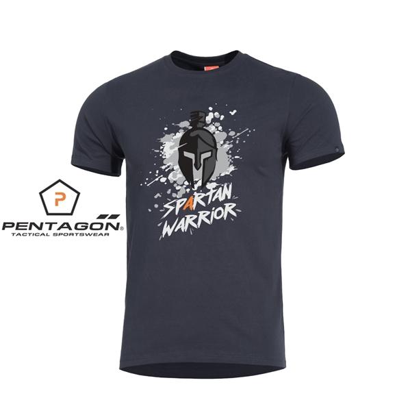 Pentagon Spartan Warrior taktikai póló, fekete, K09012