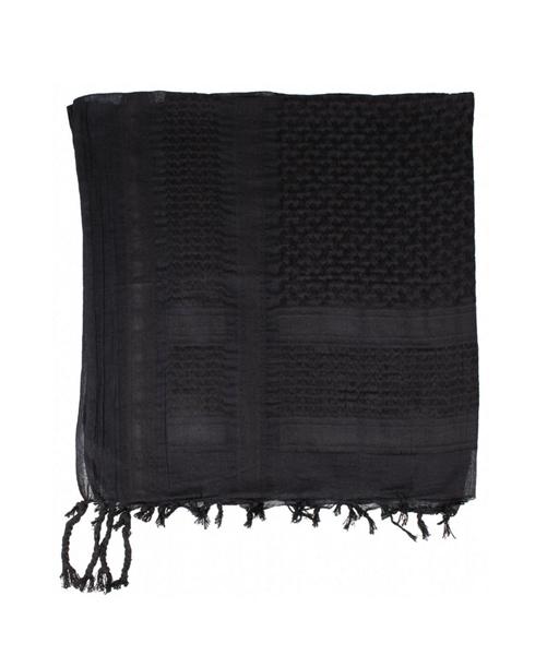 Palesztin kendő (shemagh), fekete, 16501A