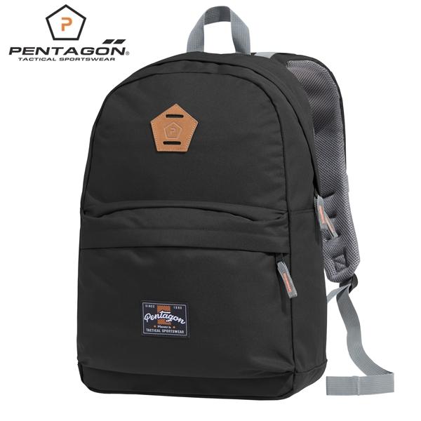 Pentagon Artemis hátizsák laptoptartóval, fekete, K16103