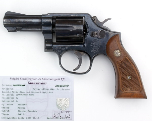 Smith&Wesson gázpisztoly, 9 mm, AER2868
