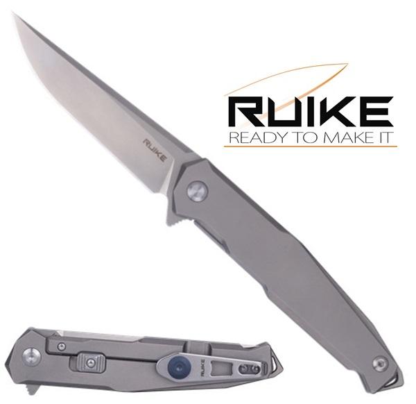 Ruike Titanium 154CM, Safety Plus, M108-TZ