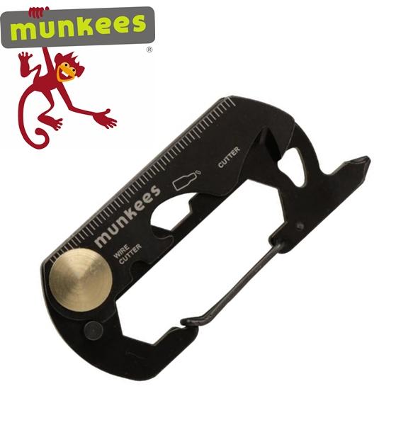 Munkees multifunkciós karabiner és kulcstartó, 2534