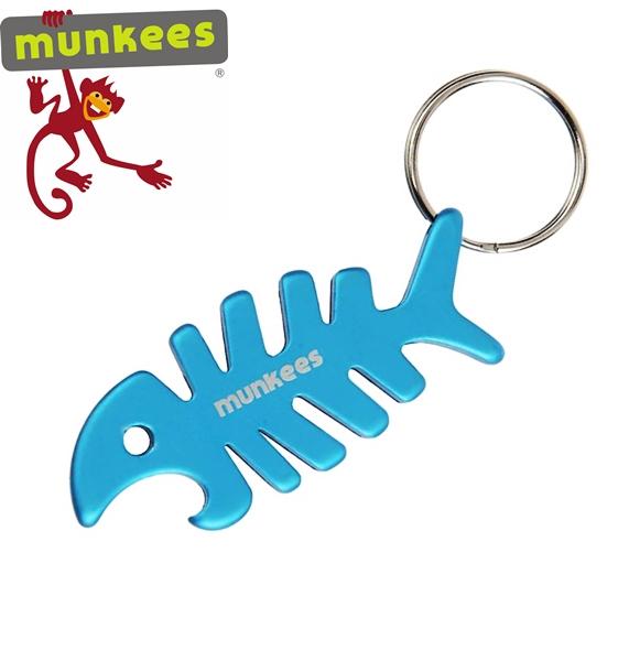 """Munkees sörnyitó kulcstartó """" Fishbone"""", 3418"""