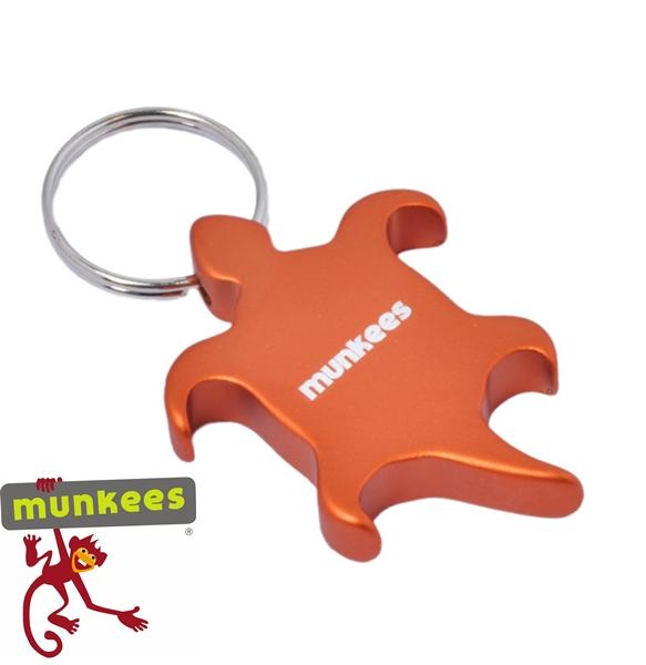 """Munkees sörnyitó kulcstartó """" teknős"""", 3484"""