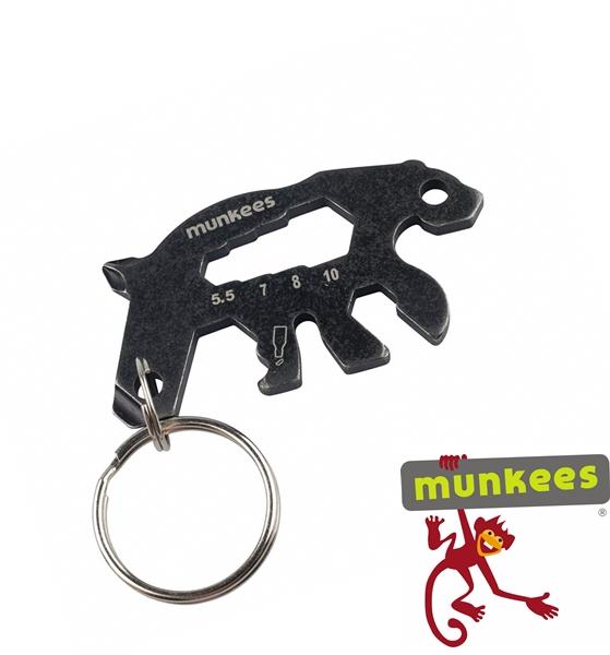 Munkees multiszerszám kulcstartó, medve, 2536
