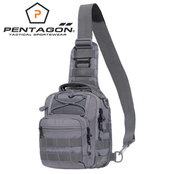 Pentagon UCB taktikai válltáska pisztolytartóval, olív, K17046