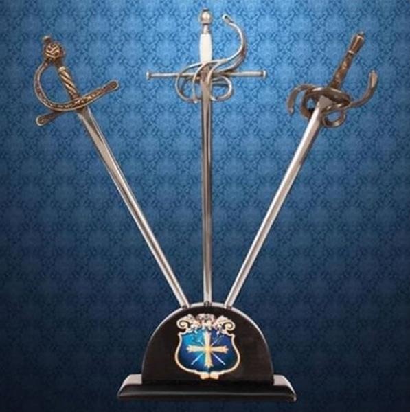 A Három Testőr levélbontó mini kard szett, 803967