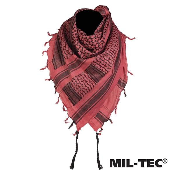 Palesztin kendő (shemagh), piros- fekete, 12619000