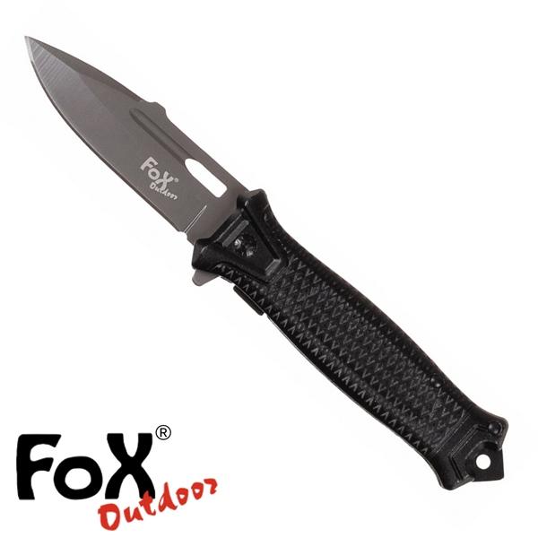 "Fox ""Snake"" egykezes bicska, fekete, 45551A"