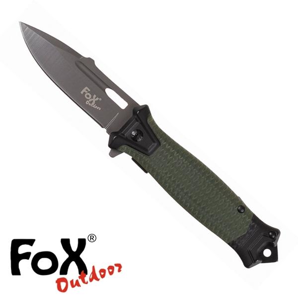 """Fox """"Snake"""" egykezes bicska, olív, 45551B"""