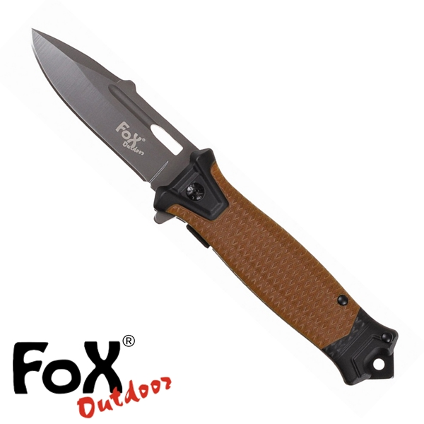 "Fox ""Snake"" egykezes bicska, coyote, 45551R"