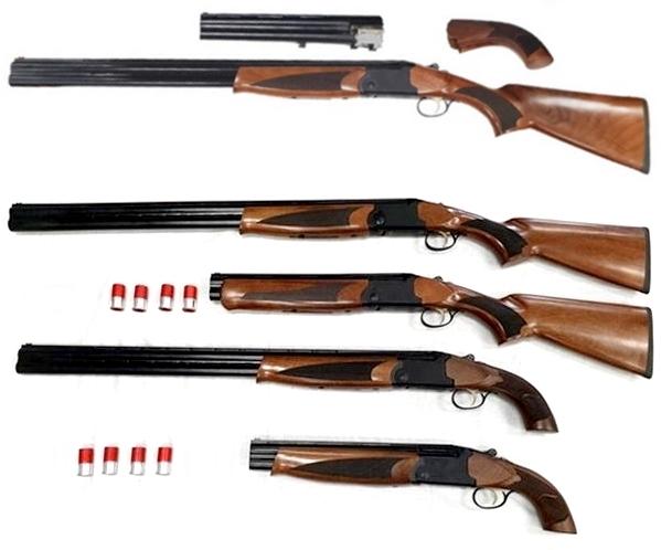 GodFather IV. gumilövedékes puska, variálható